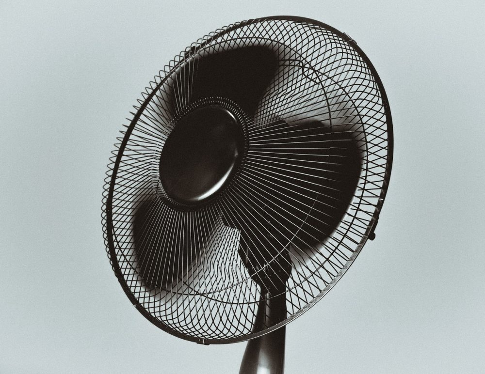 черный вентилятор