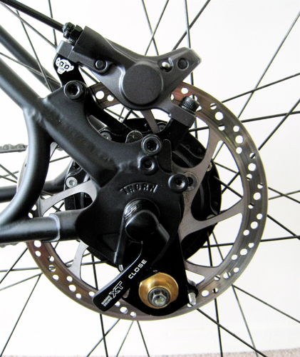 Велосипед дисковые тормоза