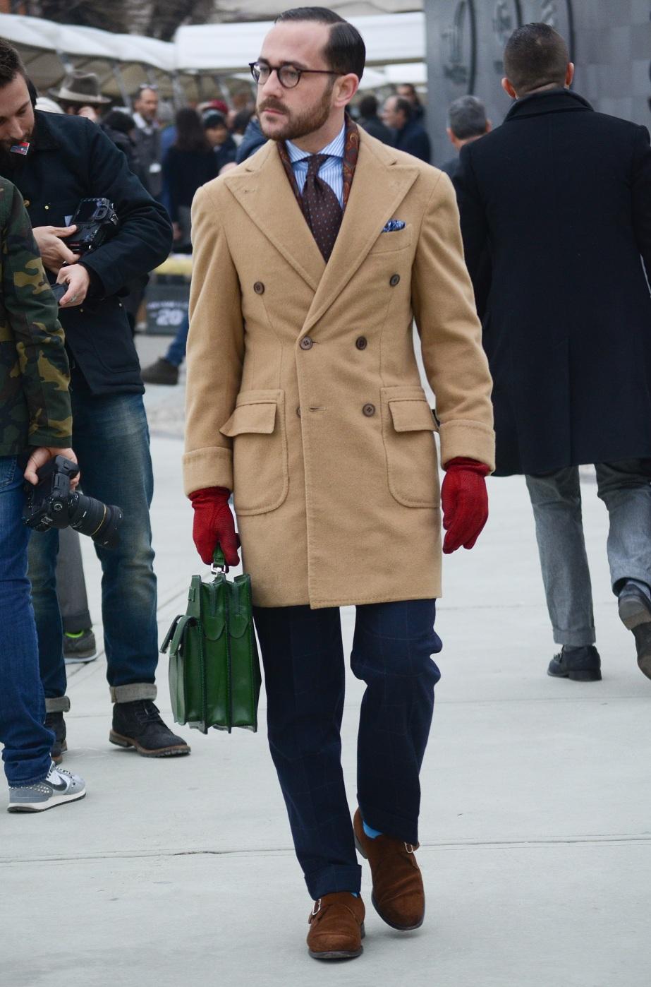Чоловічі стильні перчатки