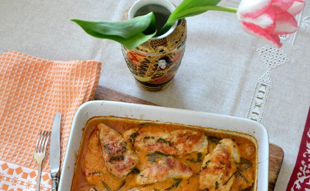 Курка із соусом пири-пири