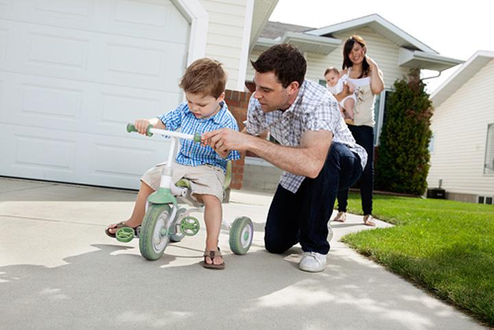 Зручний дитячий велосипед