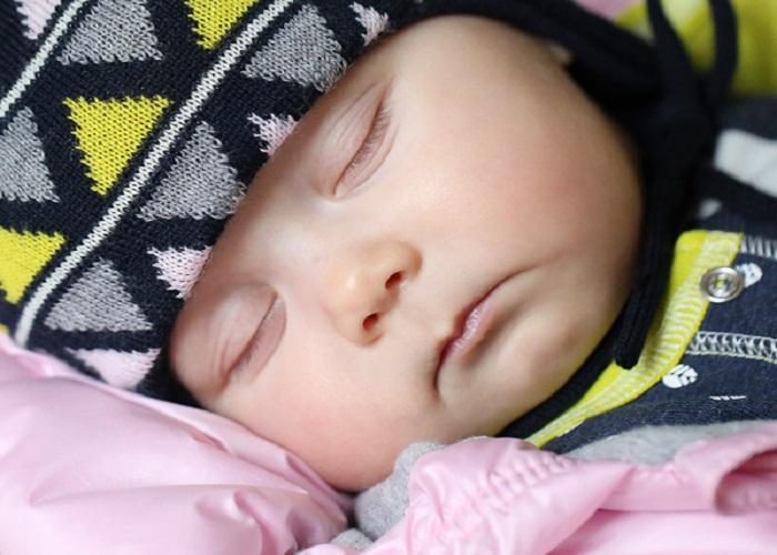 Зимняя одежда для младенца
