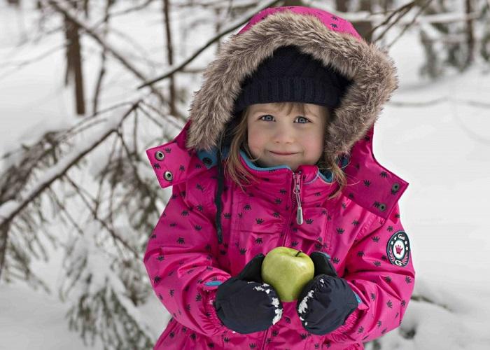 Зимняя одежда для малыша