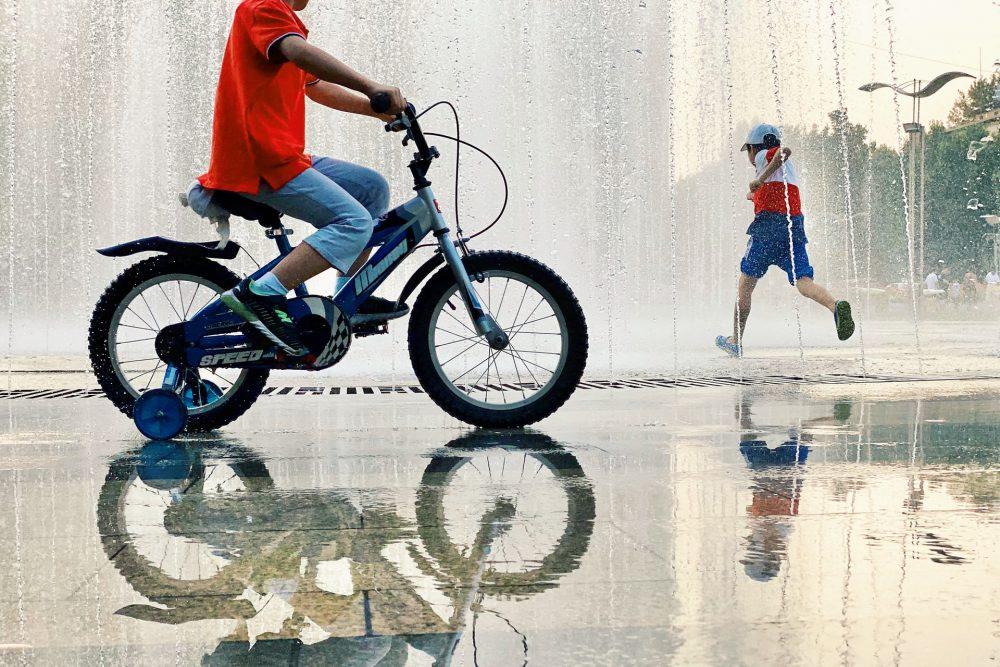 Чотириколісний велосипед