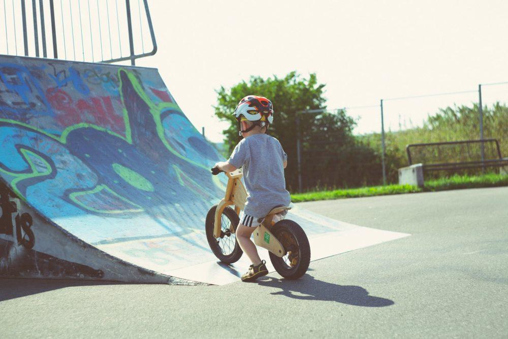 Класний дитячий велосипед