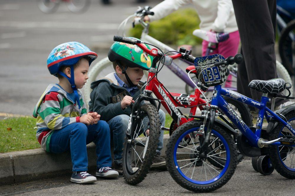 Як вибрати колеса для дитячого велосипеда