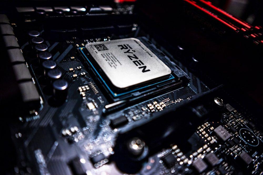 Так выглядит процессор Ryzen 7 1700X первого поколения