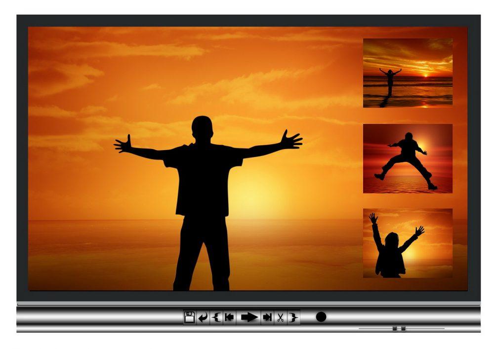 оранжевый экран