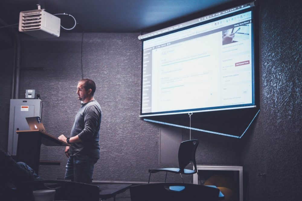 Проектор для презентаций