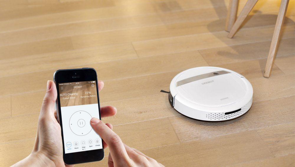 Робот-пылесос на управлении со смартфона