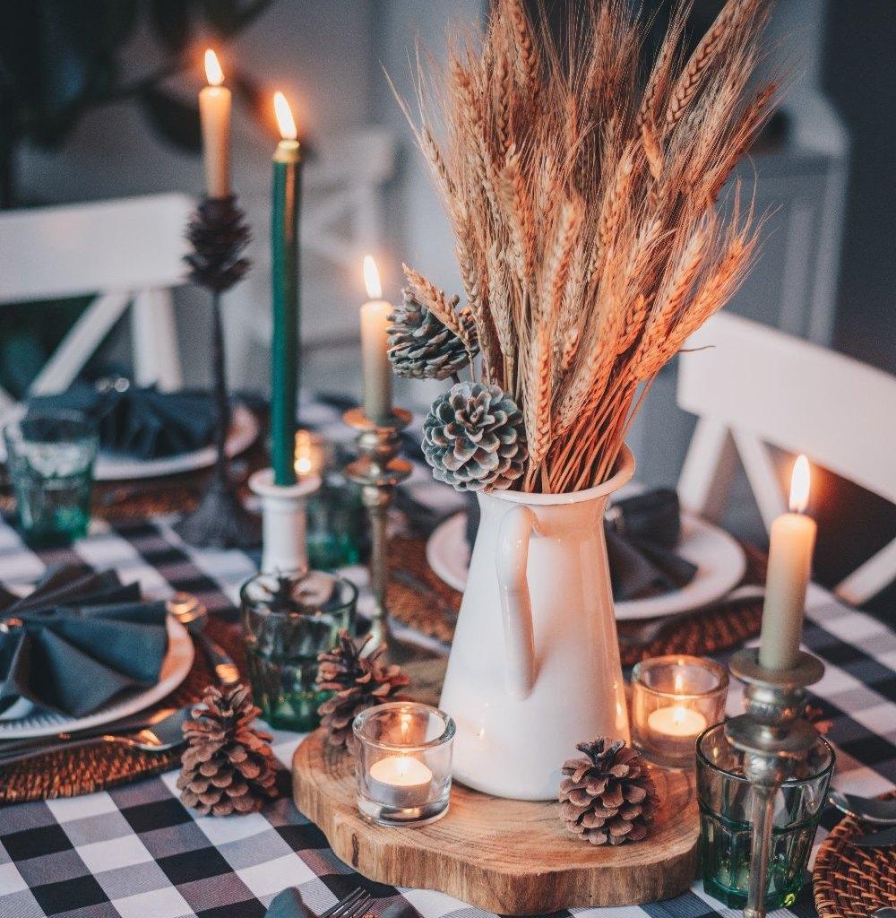 Сервірування столу на Новий рік