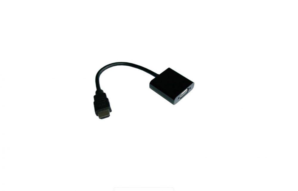 Правильный адаптер HDMI-VGA