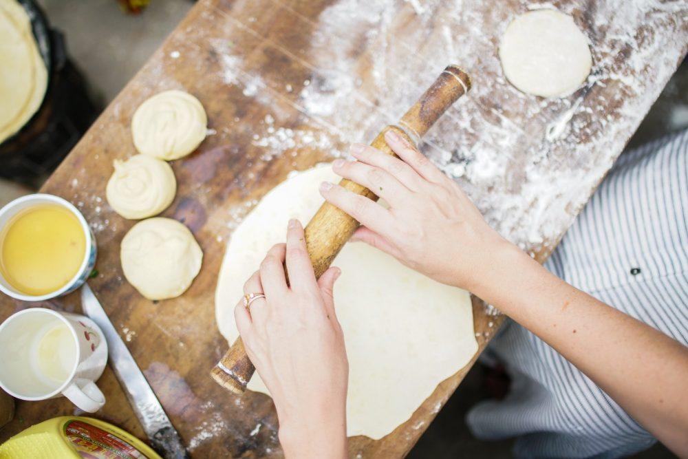 тісто для піци на сковороді