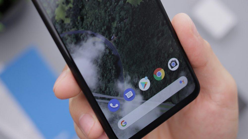 Дисплей Google Pixel 4