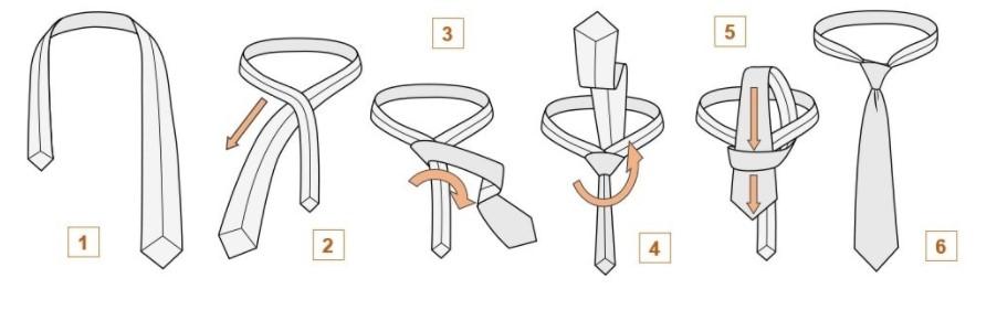 """Як зав'язувати краватку вузлом """"Кент"""""""