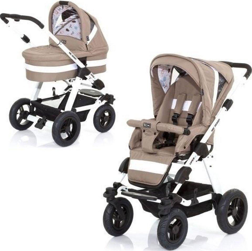 Универсальная коляска ABC Design Viper 4S (2 в 1) Peanut