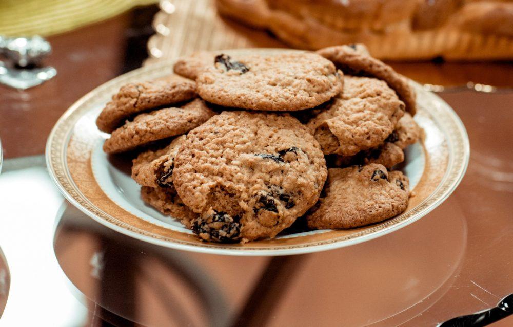 Вівсяне печиво з шоколадною крихтою