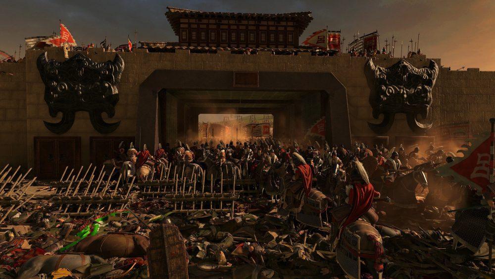 Насичені битви, скріншот із Total War: Three Kingdoms
