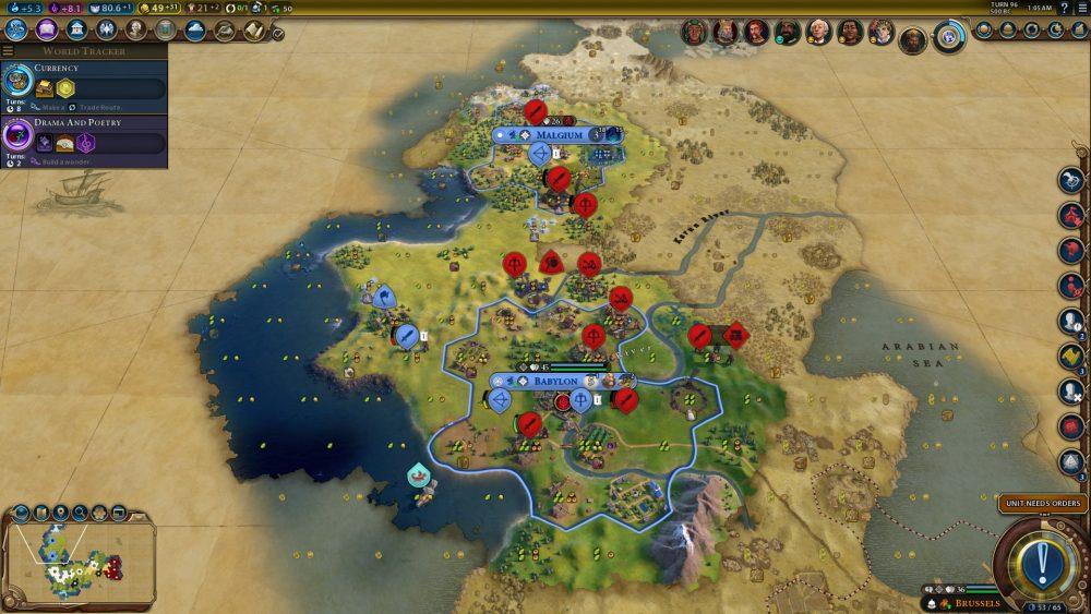Ігровий процес Civilization VI Civilization VI
