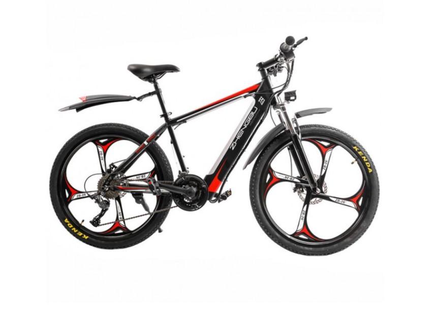 Электровелосипед Zhengbu M8 Black from red