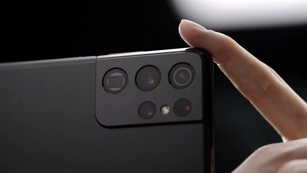 Блок камер Galaxy S21 Ultra