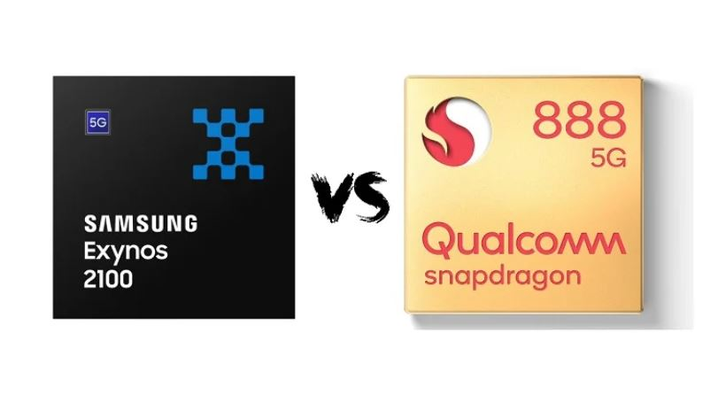Процесори Snapdragon 888 і Exynos 2100