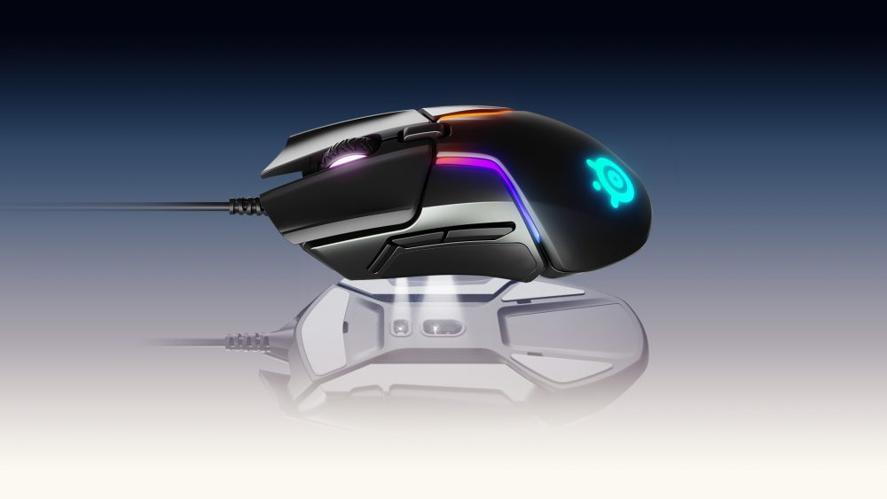 Геймерська миша SteelSeries з оптичним сенсором