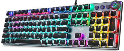 Клавиатура проводная Aula Fireshock V5 Mechanical Wired Keyboard