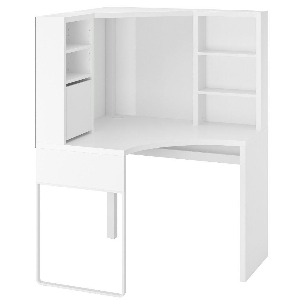 Рабочий угловой стол IKEA MICKE