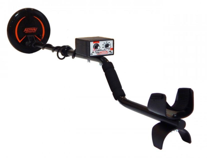 Металлоискатель аккумуляторный Пират Актив (Pirat Active) импульсный, глубина поиска до 1,5 м