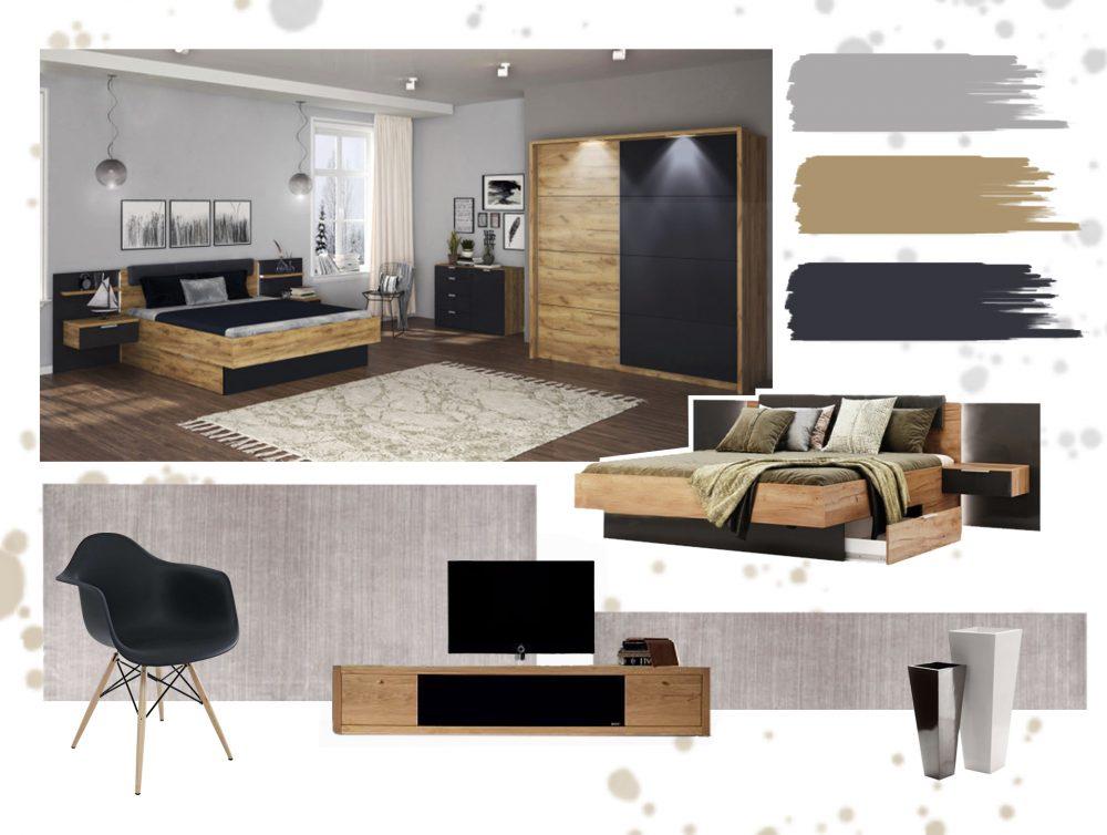 Дизайн спальні в стилі модерн