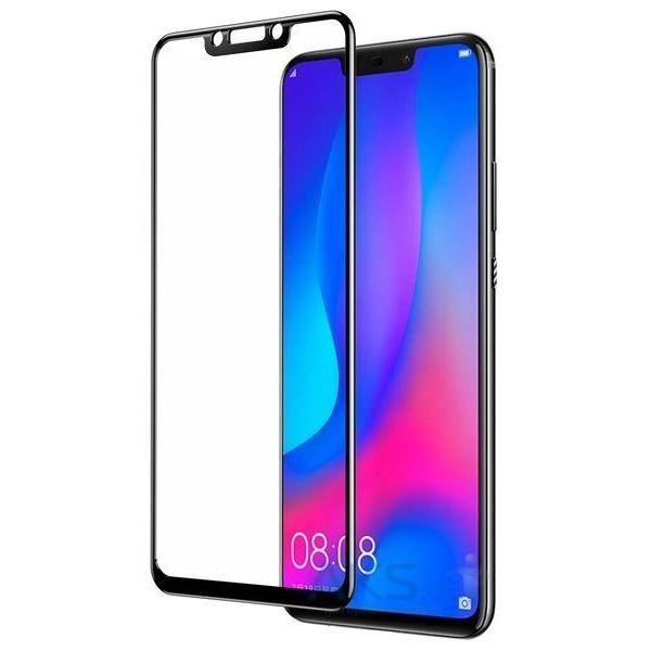 Захисне скло на телефон Huawei P Smart Plus 9D black