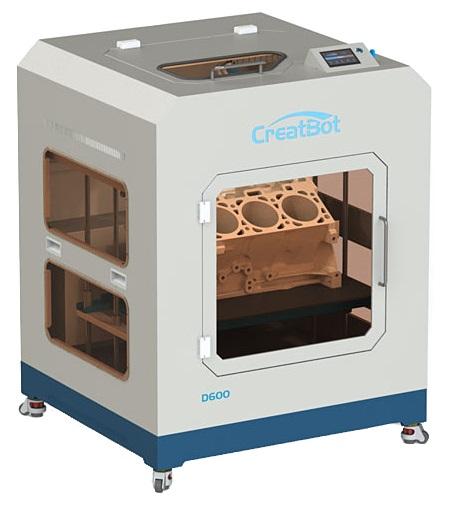 Профессиональный 3D-принтер CreatBot D600 Pro