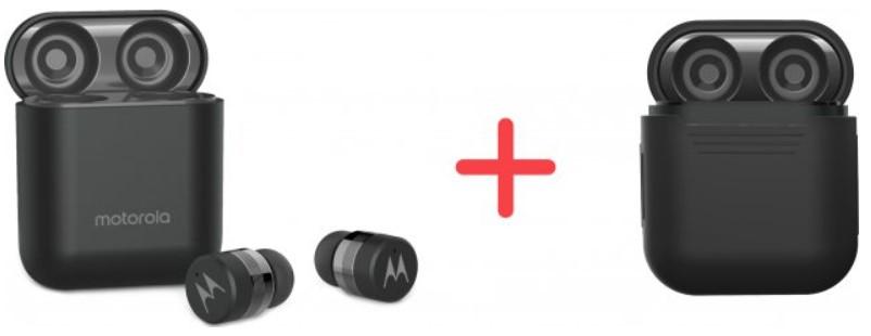 Наушники Motorola Verve Buds 120 Black TWS