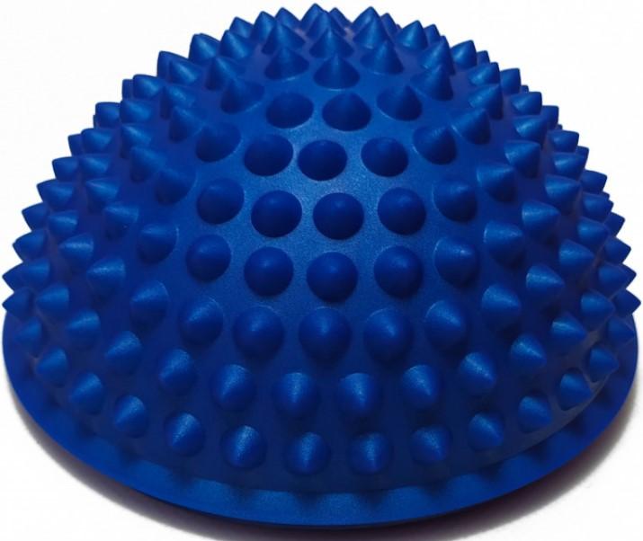 Півсфера масажна балансувальна YogaLife жорстка синя