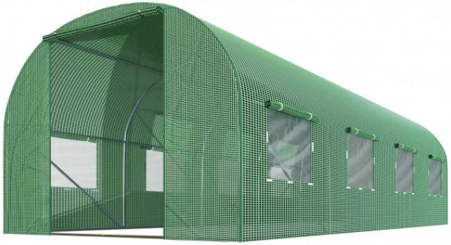 Теплица парник Homart 2,5x4m 10m2