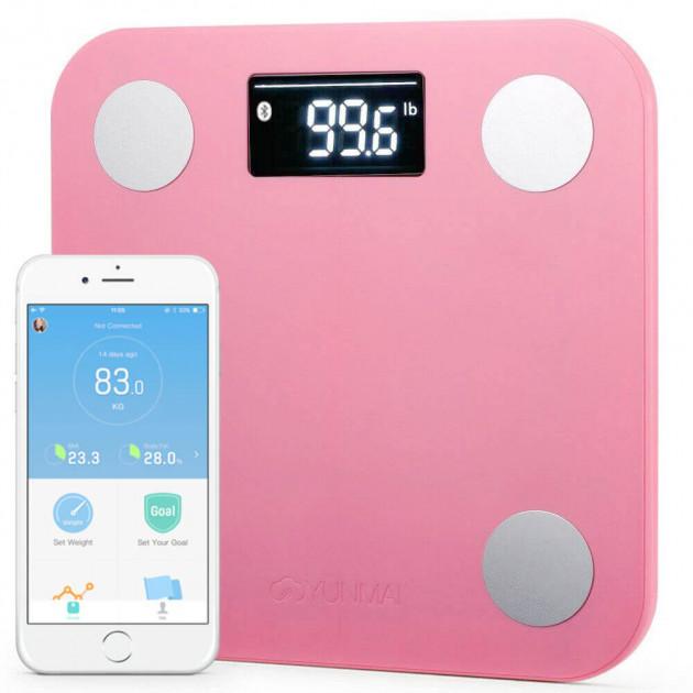 Смарт-весы Xiaomi YUNMAI Mini Smart Scale Pink