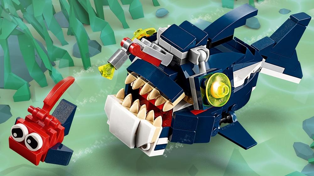 Конструктор LEGO Creator Обитатели морских глубин
