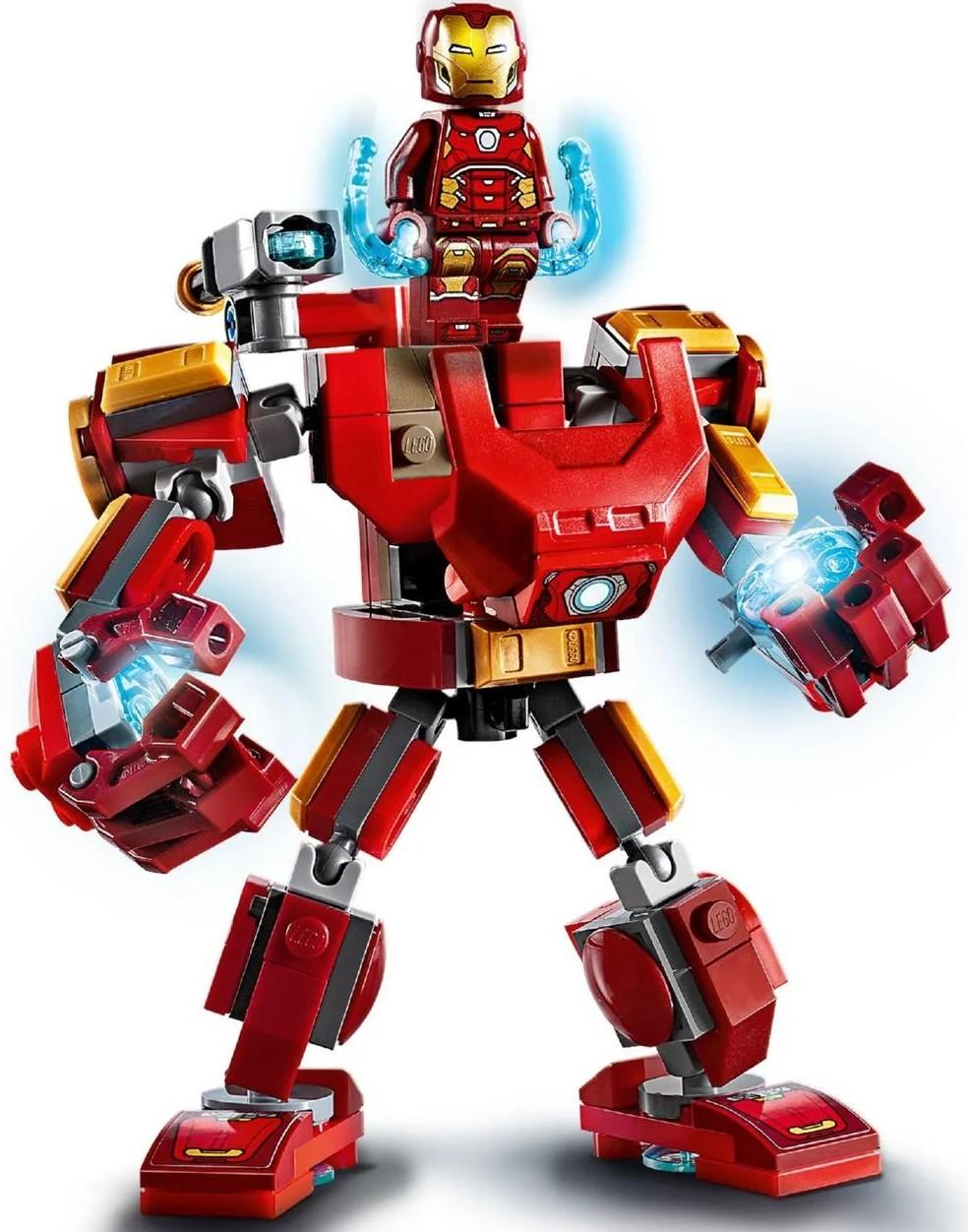 Конструктор LEGO Super Heroes Marvel Comics Железный Человек