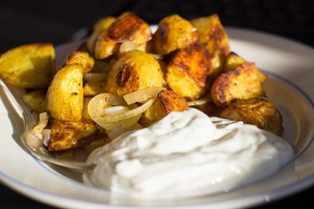 Смажена молода картопля
