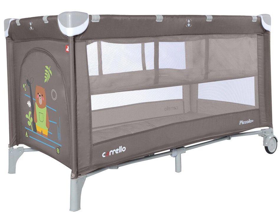 Ліжко-манеж з другим дном Carrello Piccolo + CRL-9201/2