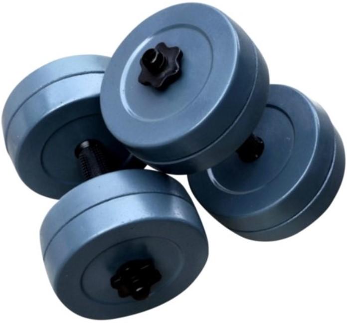 Гантели RN-Sport гранилитные по 10 кг комплект 2шт