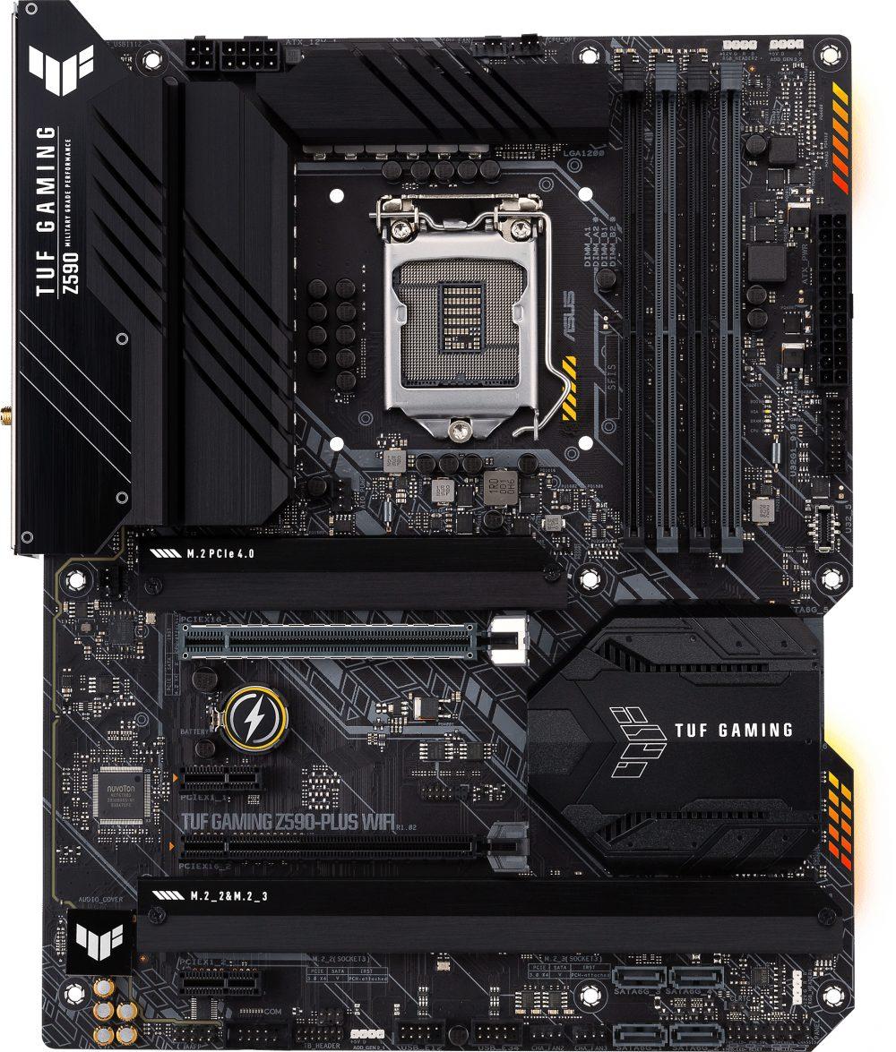 Материнська плата Asus TUF Gaming Z590-Plus Wi-Fi