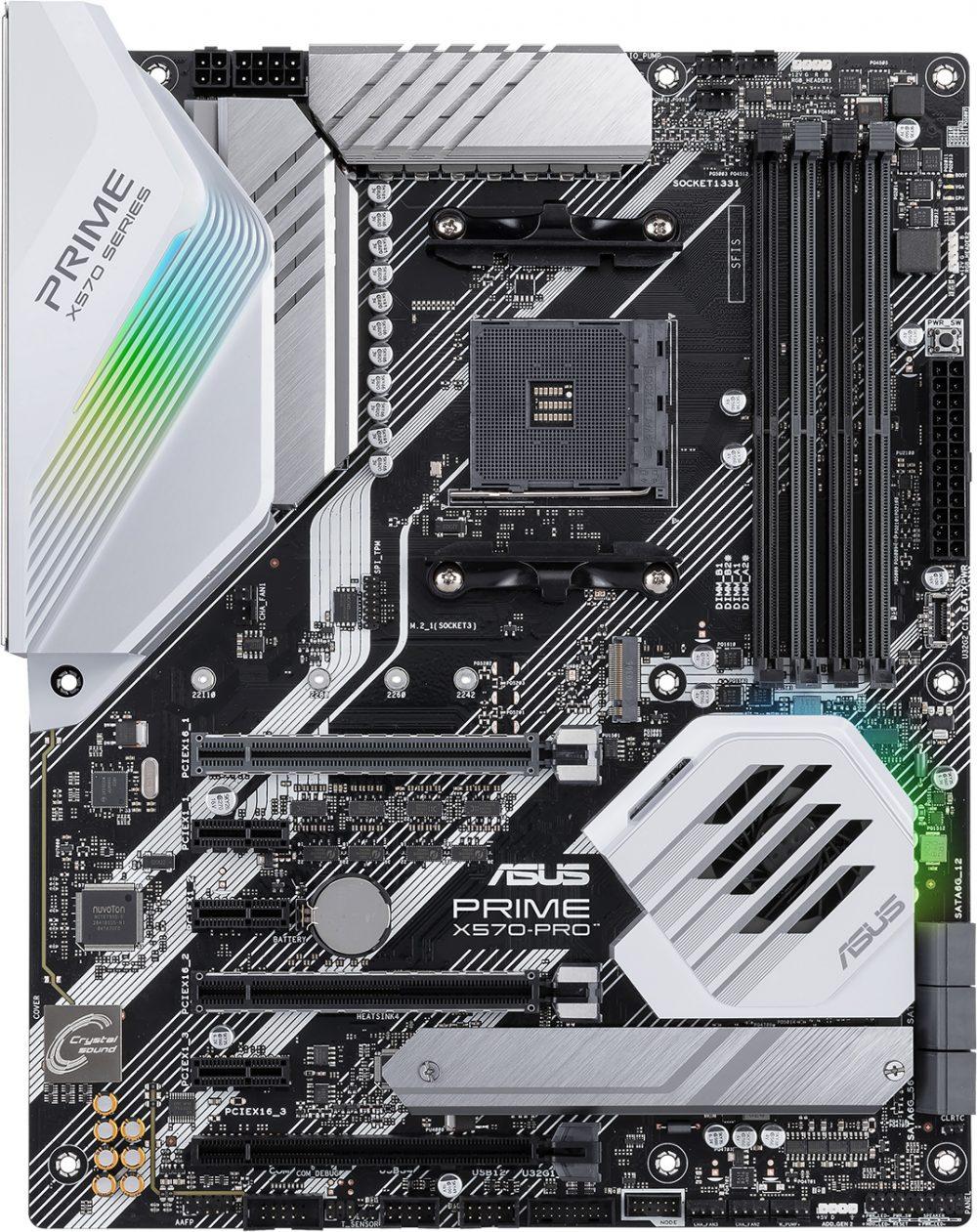 Материнська плата Asus Prime X570-Pro