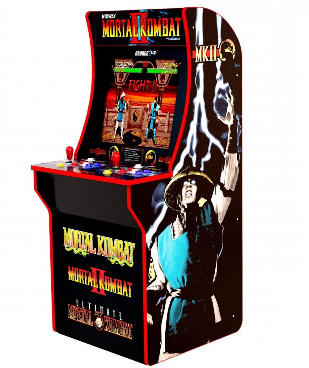 Аркадные автоматы Mortal Kombat