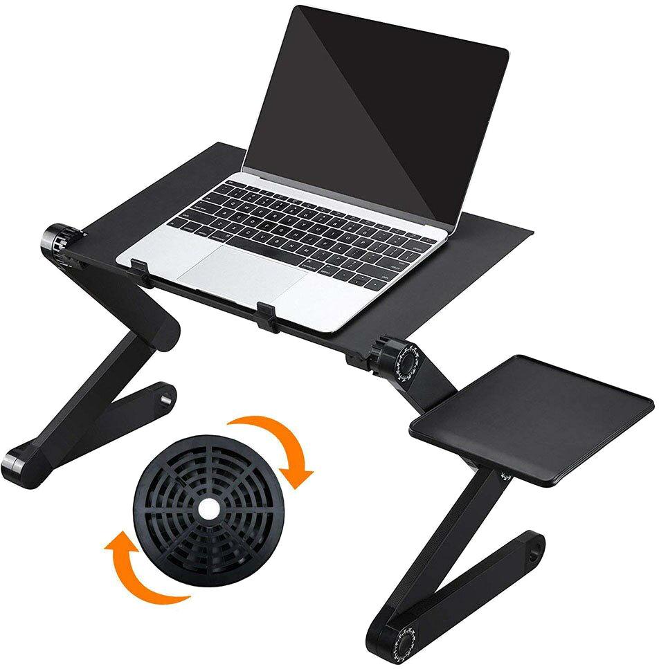 Складаний столик для ноутбука Supretto з вентилятором