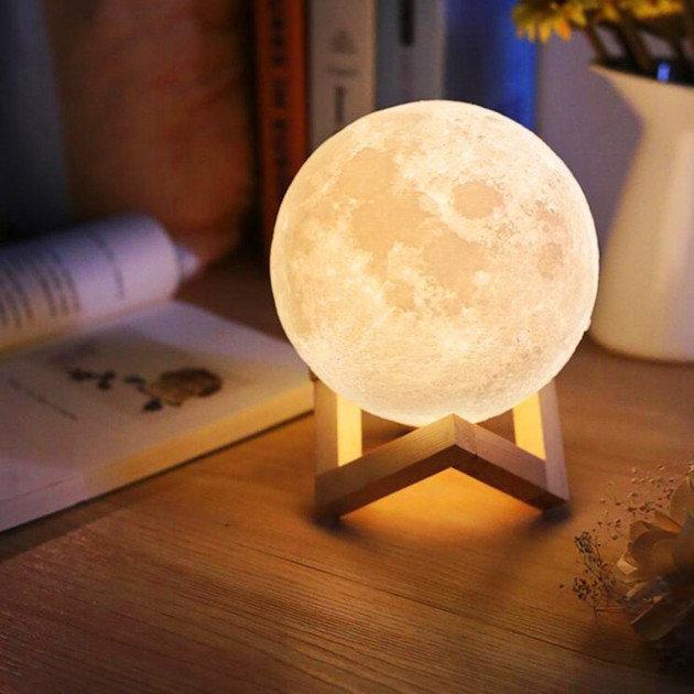 Настільний світильник UFT Magic 3D Moon Light Touch Control