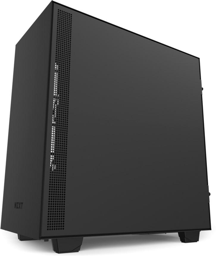 NZXT H510 Matte Black-Red