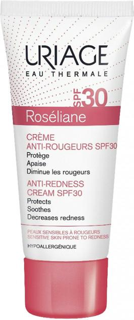 Солнцезащитный крем для лица Uriage Roséliane Crème Anti-Rougeurs SPF 30
