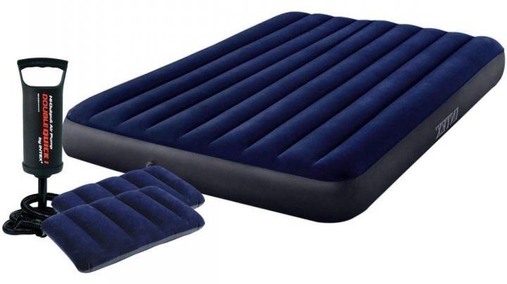 Полуторный надувной матрас Intex 64758-2 Classic